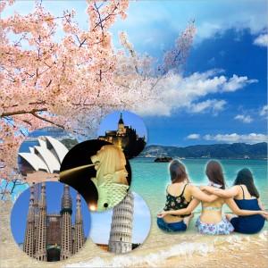卒業旅行/女子旅
